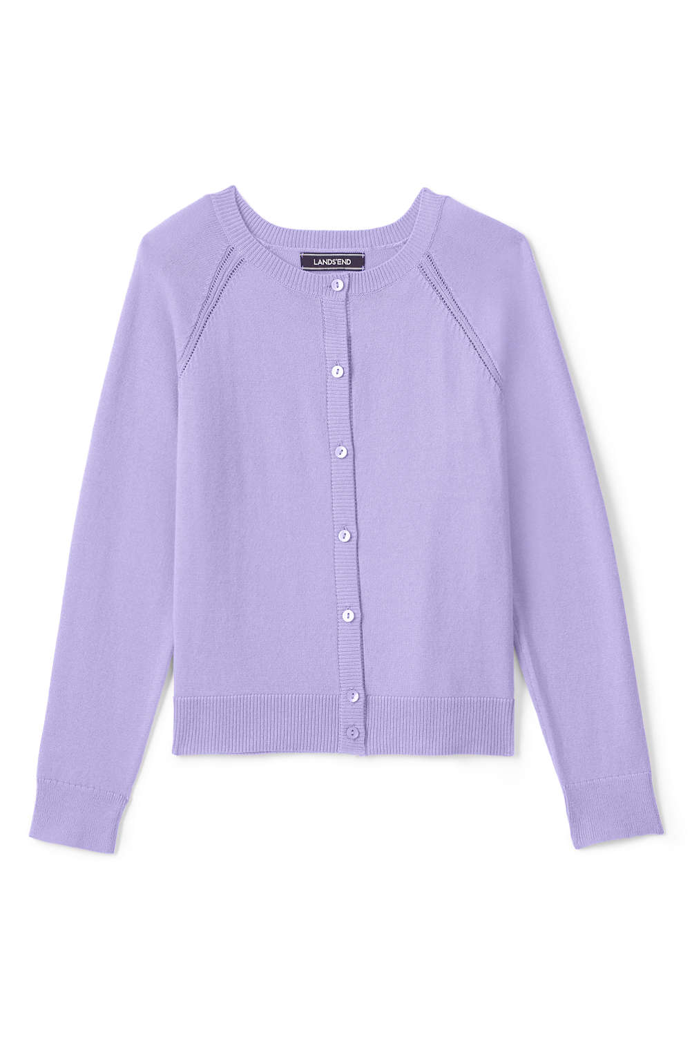 Girls Sophie Cardigan from Lands  End ccd5f4545