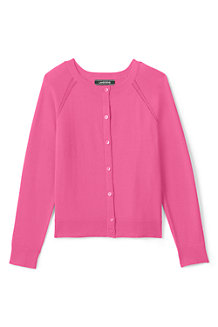 Girls' Crew Neck Sophie Cardigan