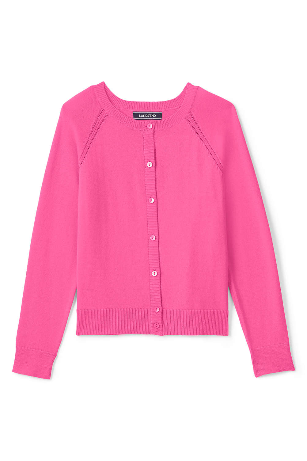 92e8b5a50 Girls Sophie Cardigan from Lands  End