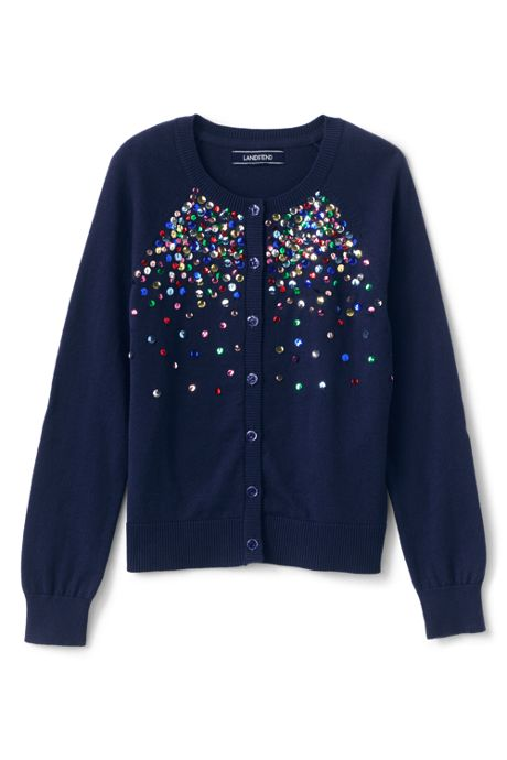 Girls Plus Embellished Sophie Cardigan