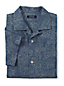 Men's Regular Printed Chambray Short Sleeve Shirt
