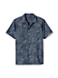 Men's Regular Printed Chambray Short Sleeve Shirt