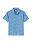 メンズ・サマープリント・オープンカラー・シャツ/半袖