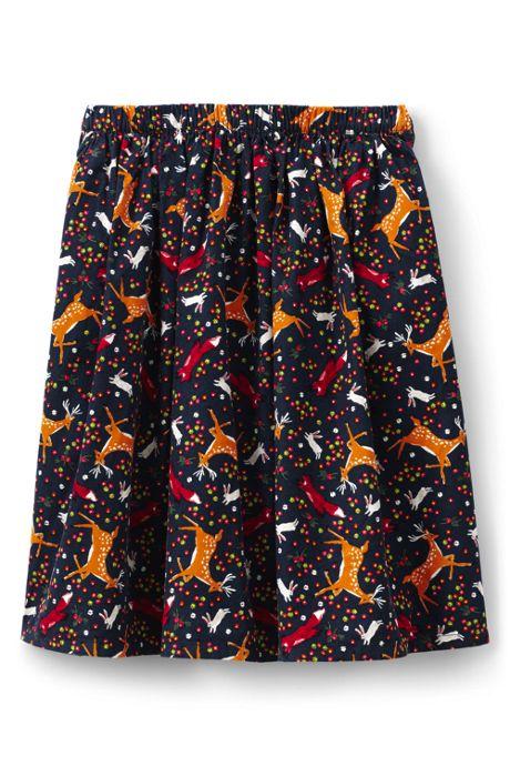 Little Girls Cord Midi Skirt
