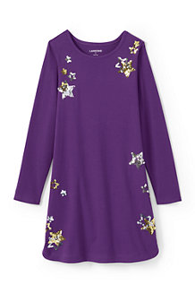 Girls' Graphic A-line Dress