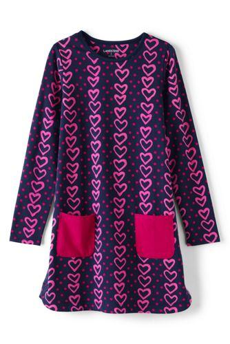 Toddler Girls' Print A-line Dress