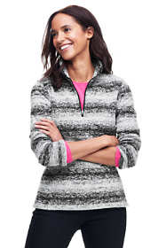 Women's Petite Classic Fleece Quarter Zip Pullover