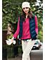 La Polaire 1/2 Zip Col Montant à Fronces, Femme Stature Standard