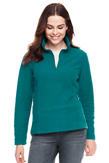 Women's Half Zip Fleece Pullover