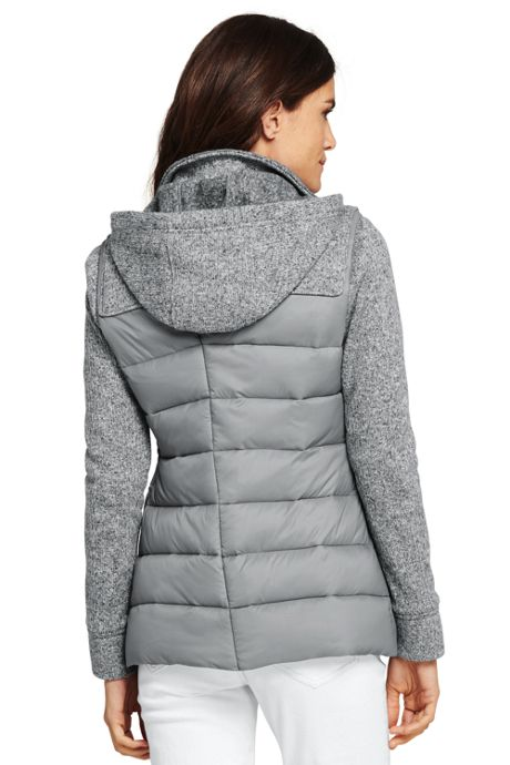 Women's Petite Lightweight Hybrid Fleece Jacket