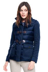 Women's Petite Lightweight Hybrid Fleece Jacket
