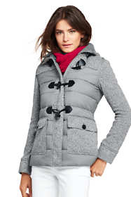 Women's Lightweight Hybrid Fleece Jacket