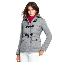 LandsEnd.com deals on Lands End Womens Lightweight Hybrid Fleece Jacket