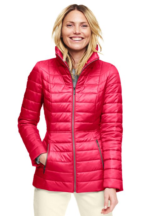 Women's Petite Funnelneck Primaloft Jacket
