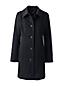 Le Manteau Classique en Laine Mélangée, Femme Stature Standard