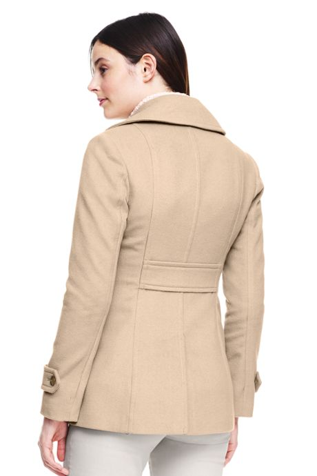 Women's Wool Peacoat