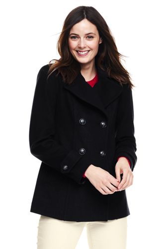 8000a17d9ea6 Women s Wool Blend Peacoat