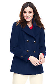 Women's Wool Coats | Lands' End