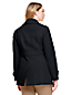 Women's Plus Wool Blend Peacoat