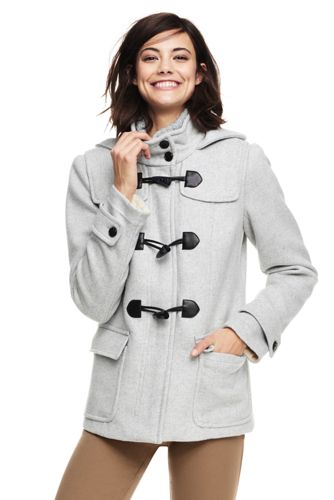 89f63826d5da Women s Wool Blend Duffle Coat