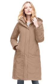 Women's Petite Commuter Long Down Coat