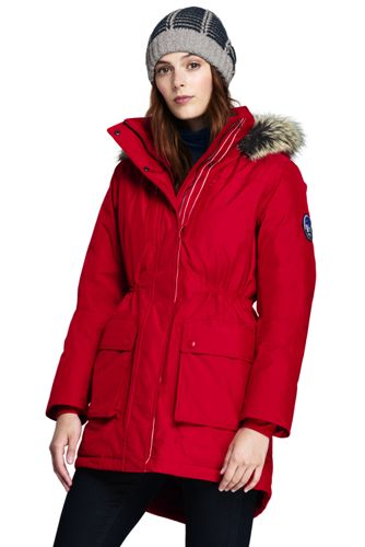 Lands end women's regular expedition down parka