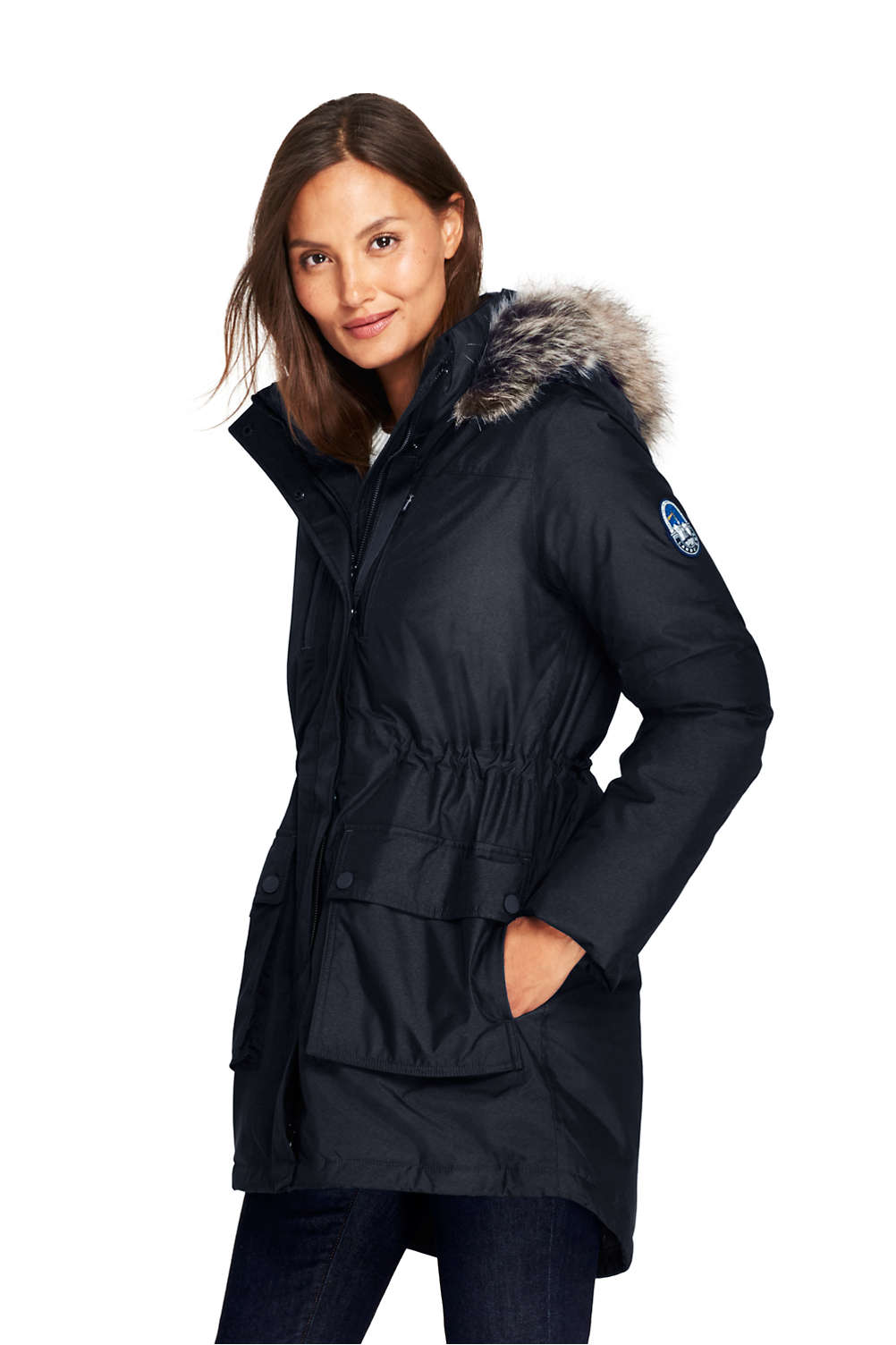56bf4325d7a Women's Expedition Down Parka from Lands' End