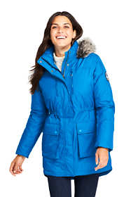 Women's Expedition Waterproof Down Winter Parka with Faux Fur Hood