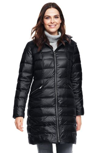 Women's Lightweight Down Long Coat
