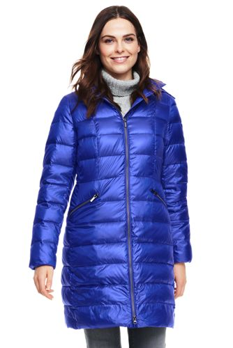 Lands end essential down long parka