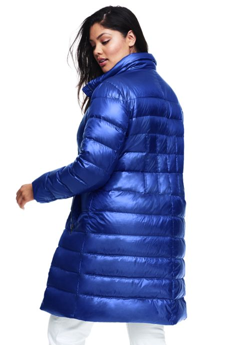 Women's Plus Size Petite Lightweight Down Coat