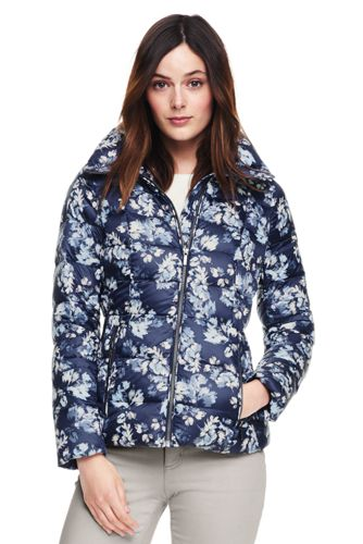Women's Lightweight Patterned Down Jacket