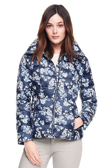 Women's Lightweight Down Jacket from Lands' End