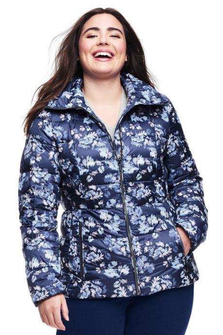 Women's Plus Size Lightweight Down Jacket