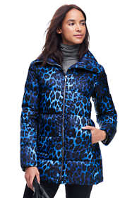 Women's Petite Lightweight Down A-line Coat