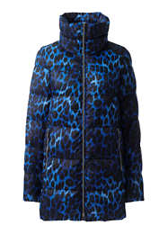 Women's Petite Plus Size Lightweight Down A-line Coat