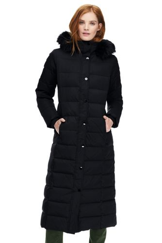 Women's Petite Maxi Down Coat