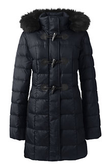 Le Duffle Coat en Duvet, Femme