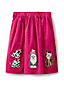 Little Girls' Appliqué Cord Skirt