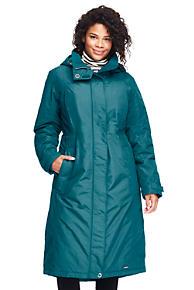 Womens Regular Coastal Rain Coat - 10 -12 - BLUE Lands End 100% Original Sale Online Particular Discount Cheap 2018 New aZtxER3Yq