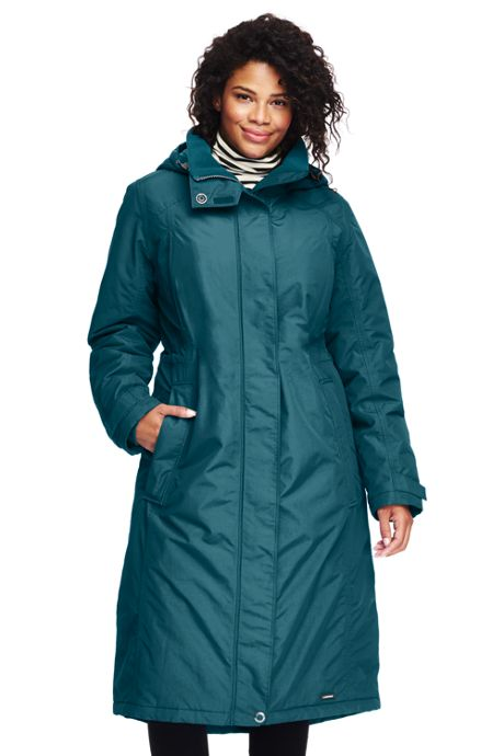 Women's Plus Size Petite Stadium Squall Long Coat