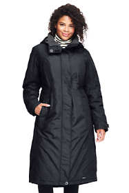 Women's Plus Size Petite Stadium Squall Long Coat