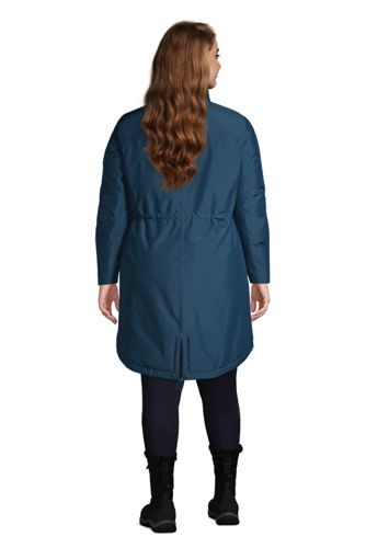 Women's Plus Size Expedition Waterproof Down Winter Parka with Faux Fur Hood