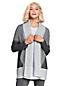 Offener Colorblock-Cardigan für Damen in Normalgröße