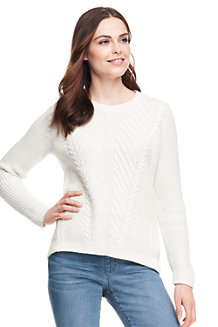 Women's Lofty Textured Crew Neck Jumper