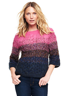 Women's Mohair Blend Boatneck Jumper