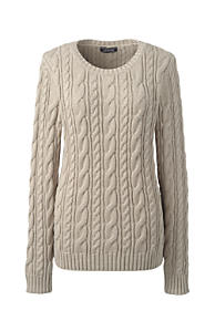 Women's Brown Cotton Sweaters