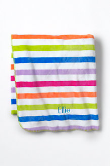 Kids' Printed Fleece Throw