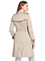 Le Trench Coat en Coton, Femme Stature Standard