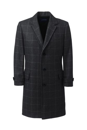 Men's Wool Blend Overcoat